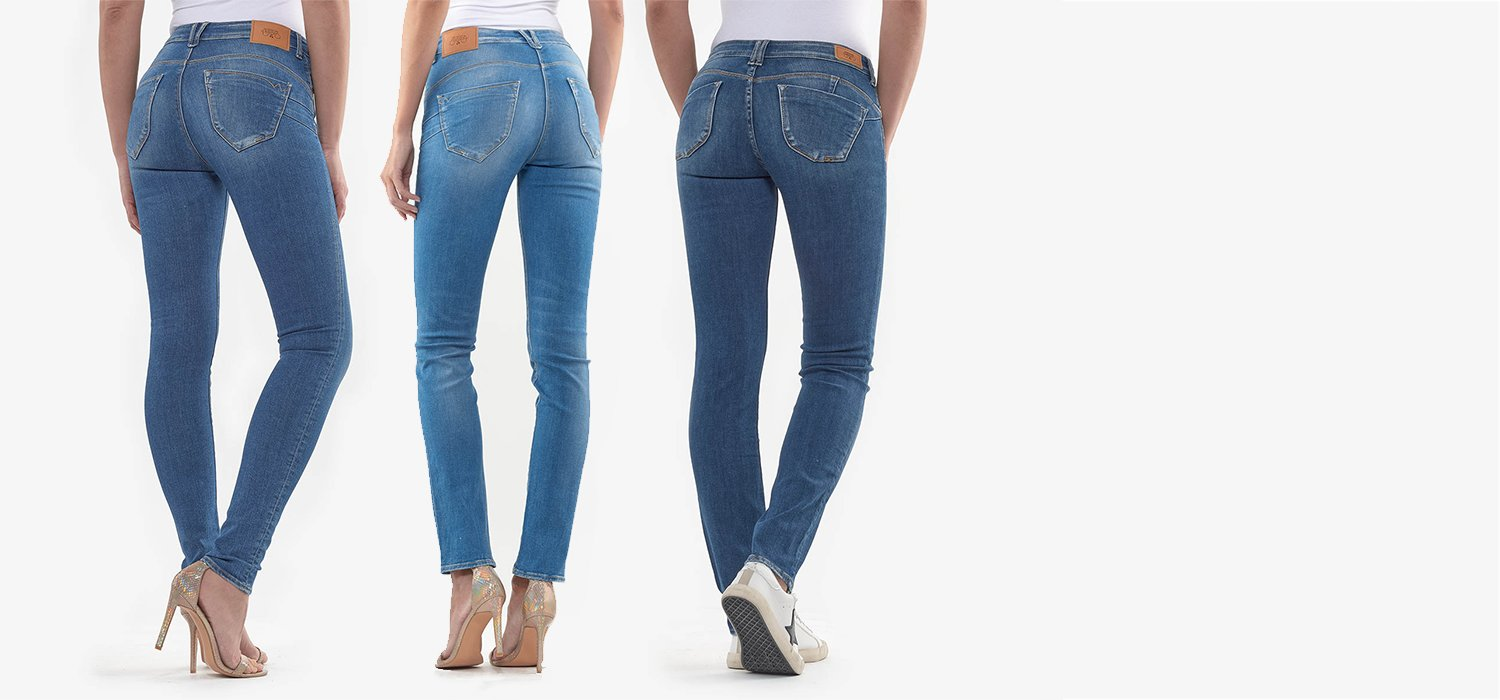 What are push-up jeans?