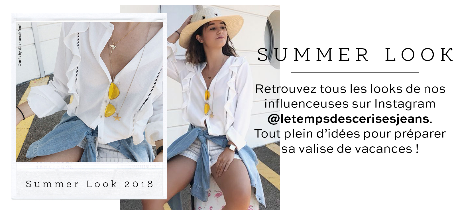 Summer look - influenceuse