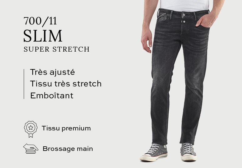700/11 Slim Super Stretch