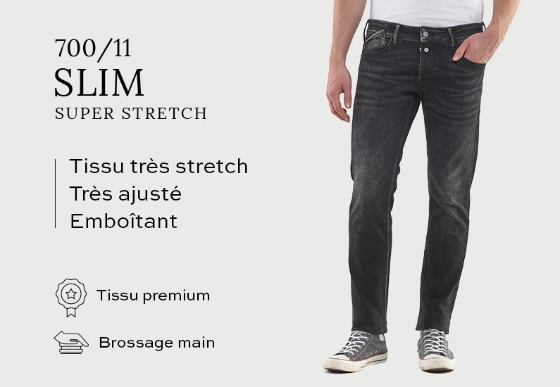 700/11 Slim Super Stretch