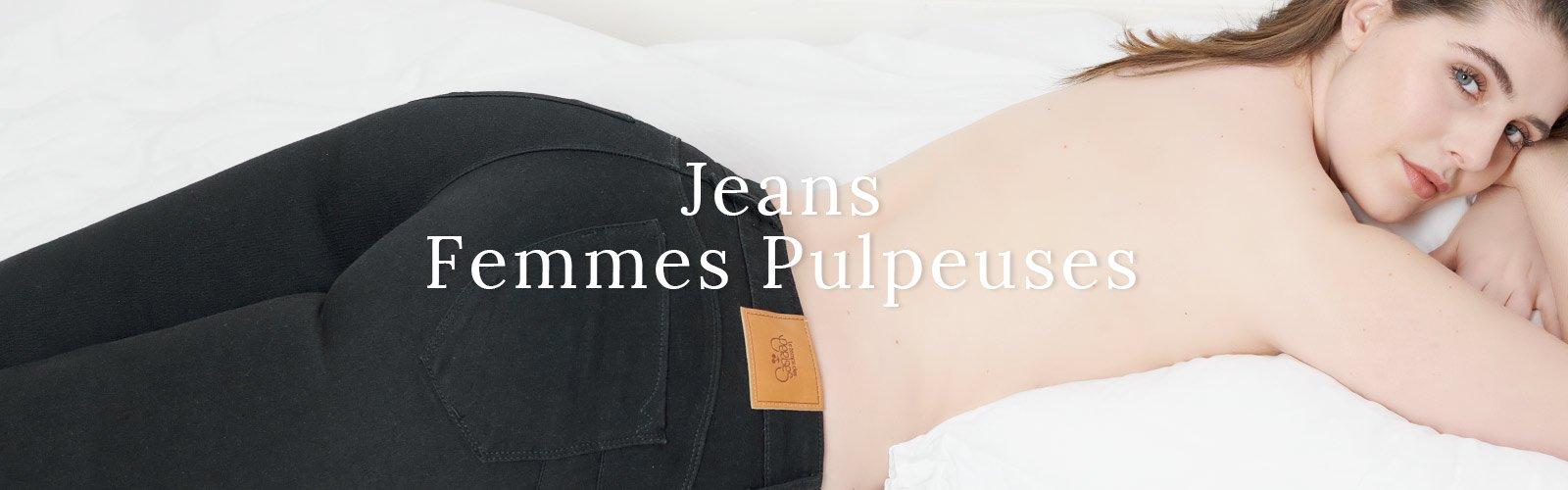 Jeans Femmes Pulpeuses