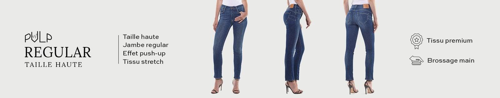 Pulp Regular Taille Haute