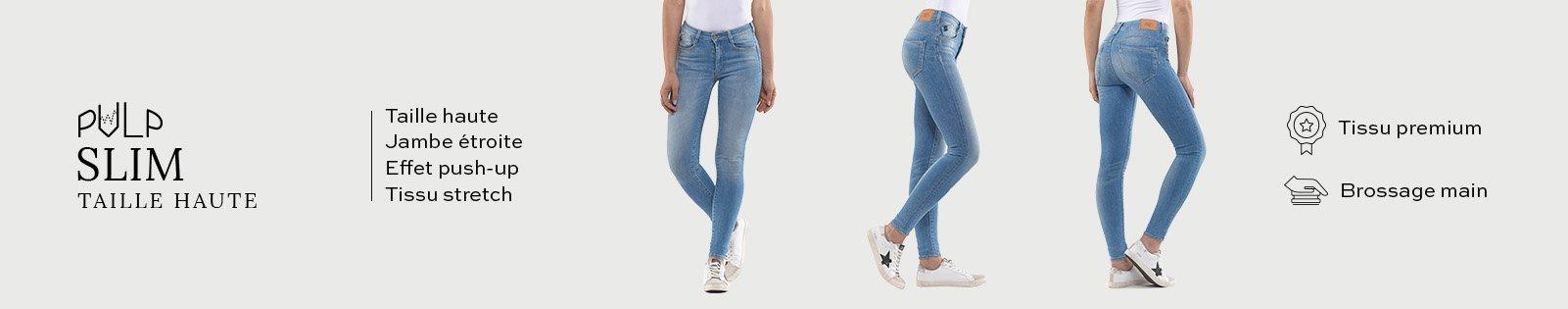 Pulp Slim Taille Haute