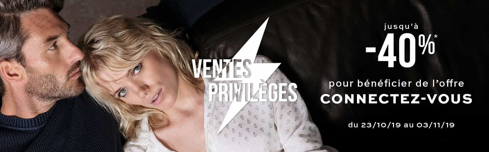 Ventes Privilèges