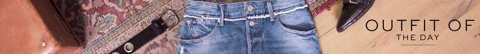 Comment porter la jupe en jeans