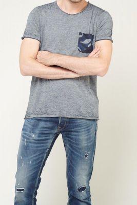 T-shirt Elias Bleu