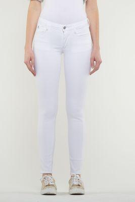 Jeans Ultra Power Skinny Blanc