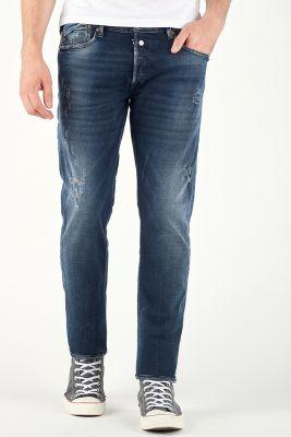Jeans 600/17 Adjusted Heritage Bleu Noir