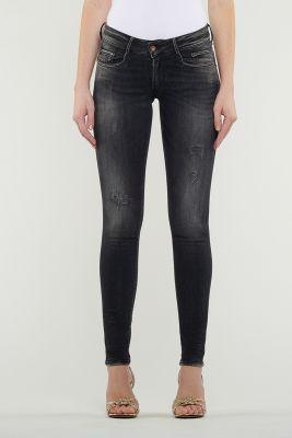 Iwa pulp slim jeans destroy noir N°1
