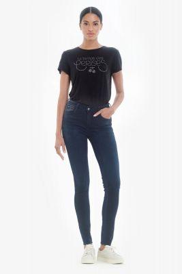 Pulp slim taille haute jeans bleu N°1