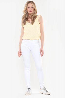 Pulp Skinny High Waist Jeans white