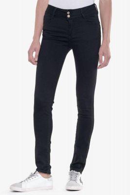 Ultra pulp slim taille haute jeans noir N°0
