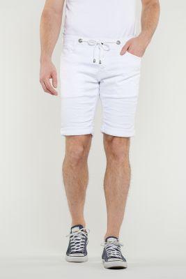 Jogg White Bermuda shorts
