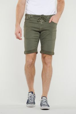Jogg khaki shorts