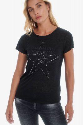 T-Shirt Ziggy noir