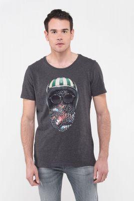 T-Shirt Ibis gris foncé