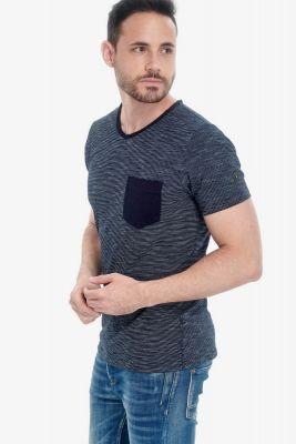 T-Shirt Roch bleu