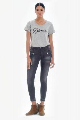 West power skinny 7/8eme jeans gris N°1