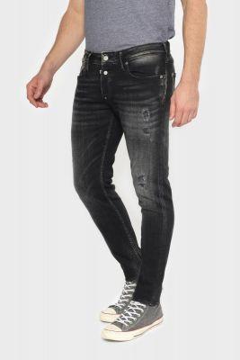 Basic 600/17 adjusted jeans destroy black N°1