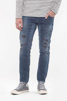 Jeans 700/11 Blue Jogg Black Destroy