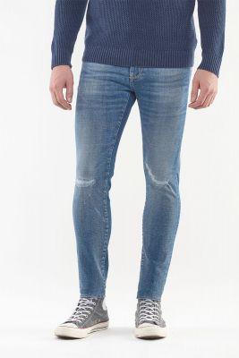 Jeans Power Skinny Bleu Délavé