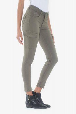 Pantalon Slim Navy Kaki