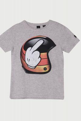 T-Shirt Baltbo gris clair