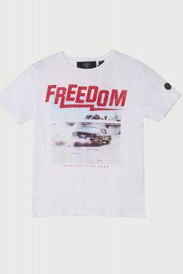 T-Shirt Stuntbo blanc