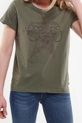 T-shirt Celeste kaki