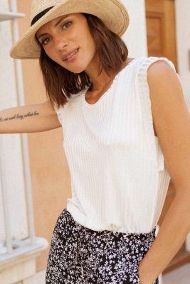 T-Shirt Roky Blanc