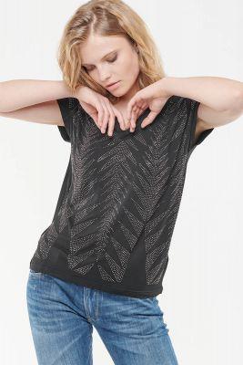 T-Shirt Strassay noir