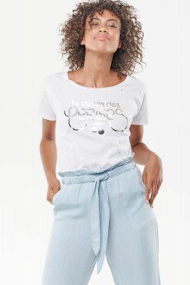 T-Shirt Wake Blanc