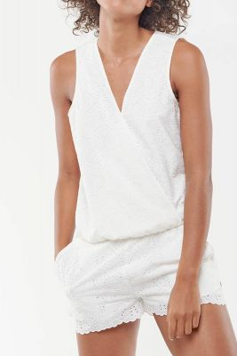 Combi-short Yalina blanche