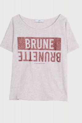 T-Shirt Blunegi gris