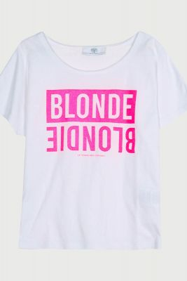 T-Shirt Blunegi blanc