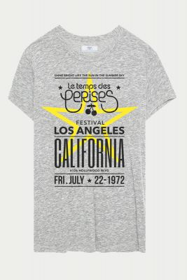 T-Shirt Callengi gris clair