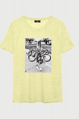 T-Shirt Hayley jaune