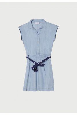 Robe Kayagi bleu denim