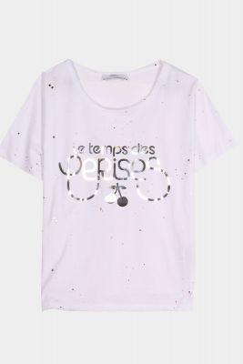 T-Shirt Wakegi blanc