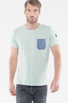 T-Shirt Breaz gris vert