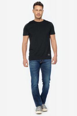 T-shirt Brown noir