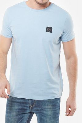 T-Shirt Brown bleu poudré
