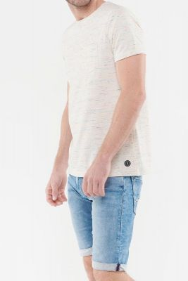 T-Shirt Cliver blanc cassé