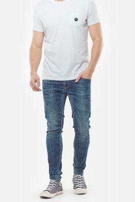 T-Shirt Gisal gris vert