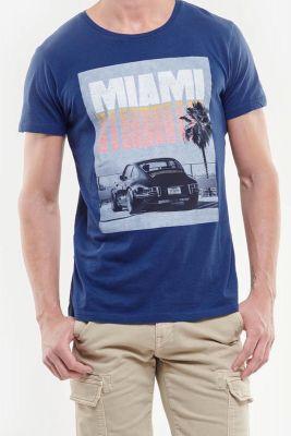 T-shirt Shawn bleu