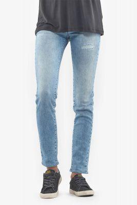 Jeans 300/16 slim Basic destroy bleu N°5