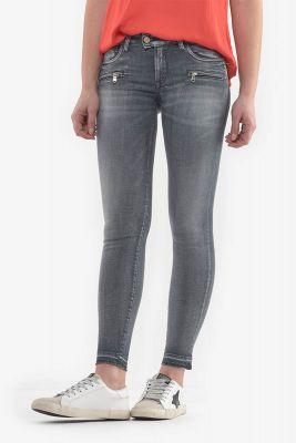 Calao pulp slim 7/8ème jeans gris N°2