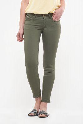 Hill pulp slim 7/8ème jeans kaki