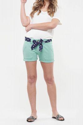 Short en jeans Olsen menthe
