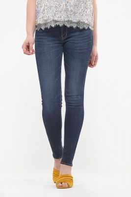 Jeans Power taille haute skinny bleu N°1